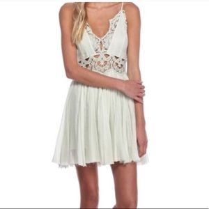 Free People IIektra Lace Mini Dress